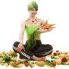 Breast Cancer vegetable lady risk