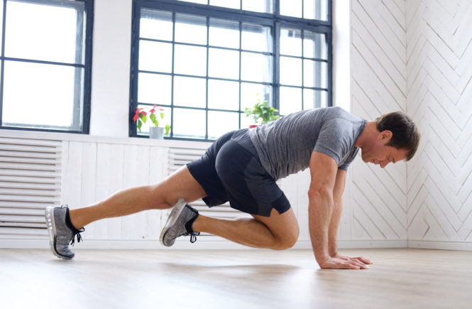 Ab Workouts for men kick ups