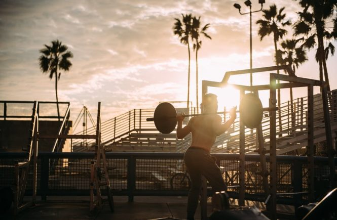 bodybuilding workout outdoors muscle beach tips