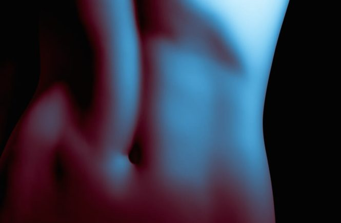Plastic Surgery Procedure sculpted body in the shadows