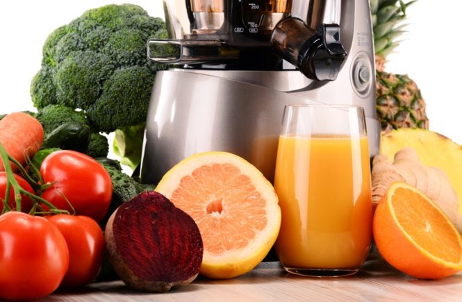 Cold Press Juicer fruits