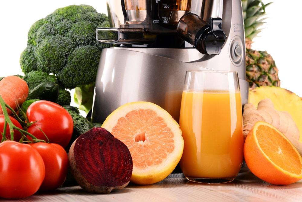 Cold Press Juicer fruits
