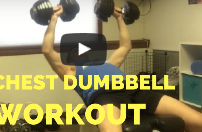 bodybuilding chest dumbbell workout