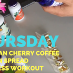 New Haircut + Michigan Cherry + My Vitamins + Leg Press Workout + Turkey Dogs – He and She Fitness