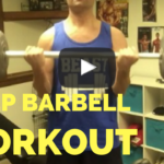 Barbell Bicep Curls Bodybuiling Demonstration – He and She Fitness