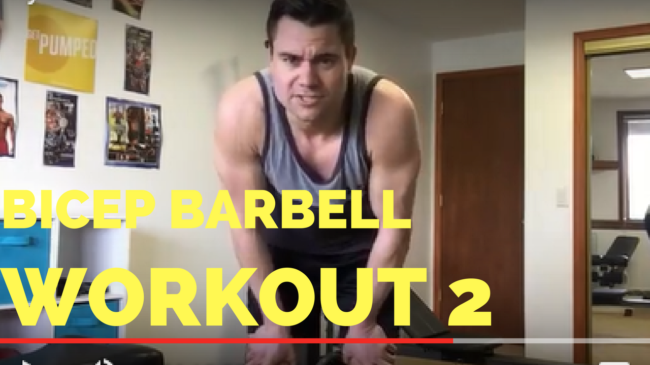bicep barbell workout updated 2