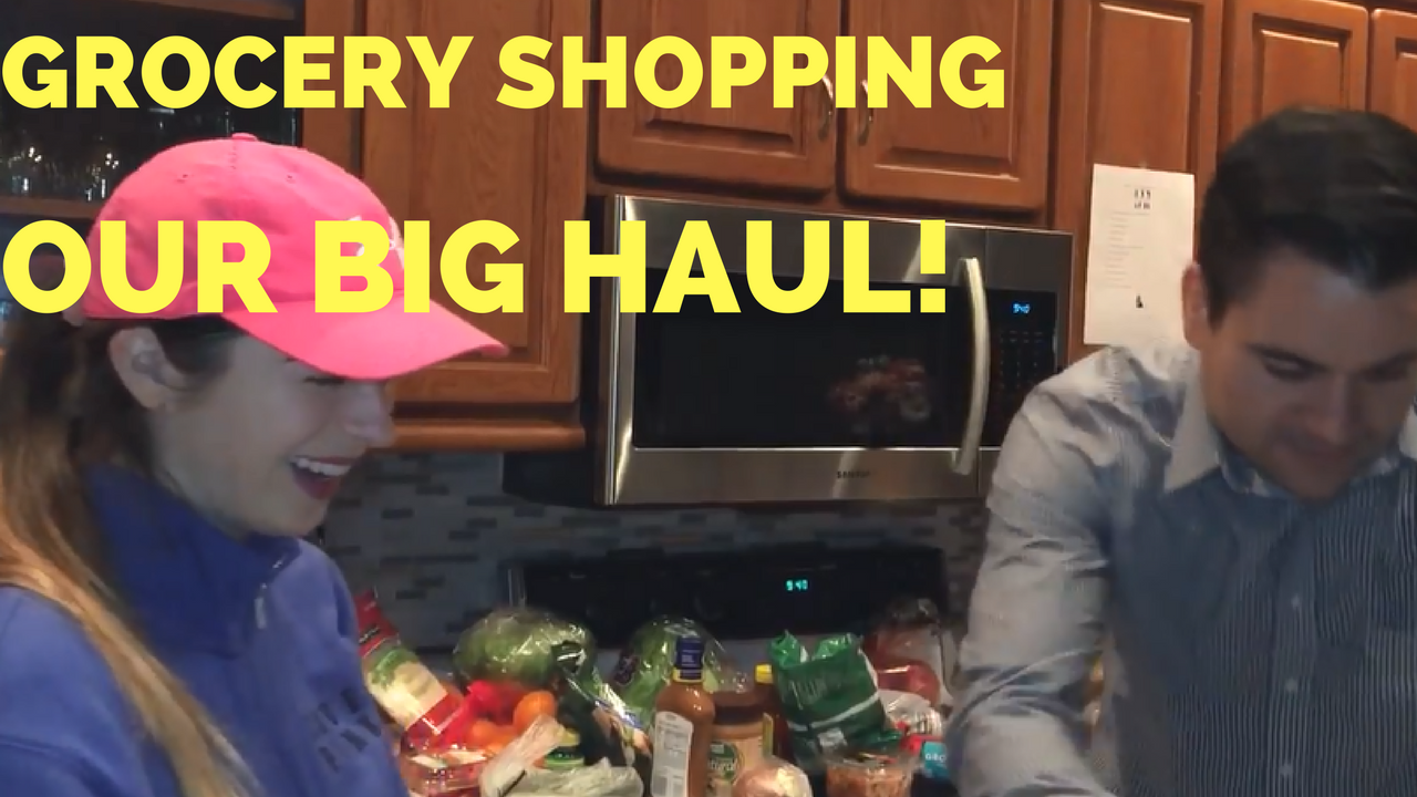 Carpooling with Leg Workout and Our Grocery Shopping Haul