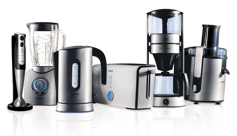 Appliances white background