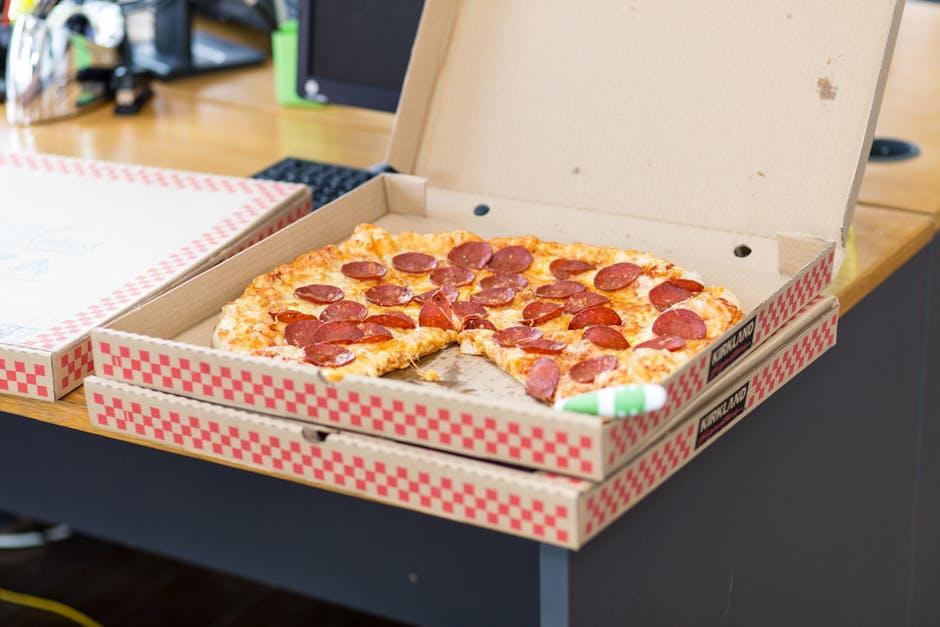 Healthiness Habitual pizza box