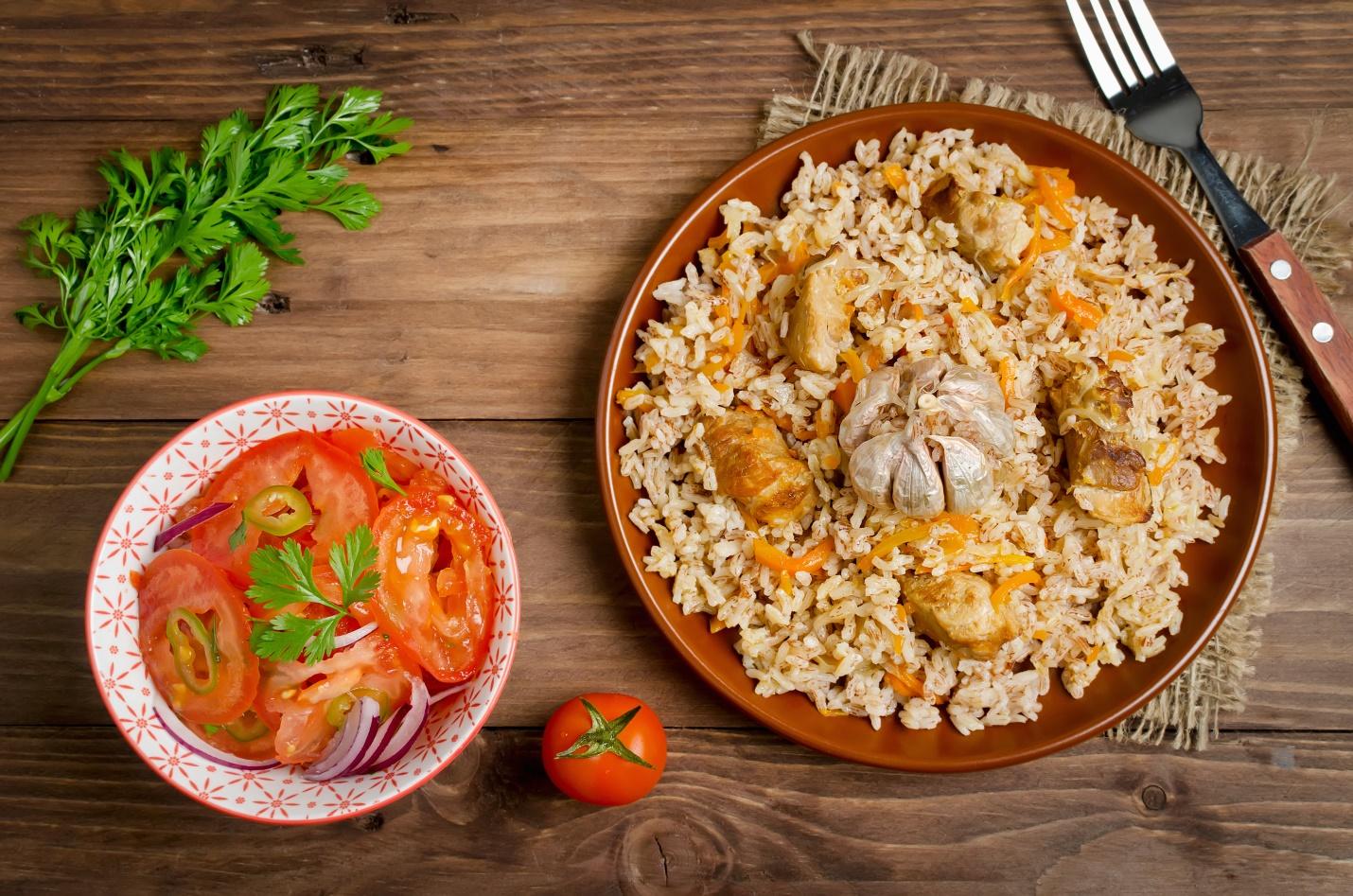 chicken marsala rice