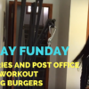 Sunday Errands + Groceries + Biceps Workout + Grilling Burgers