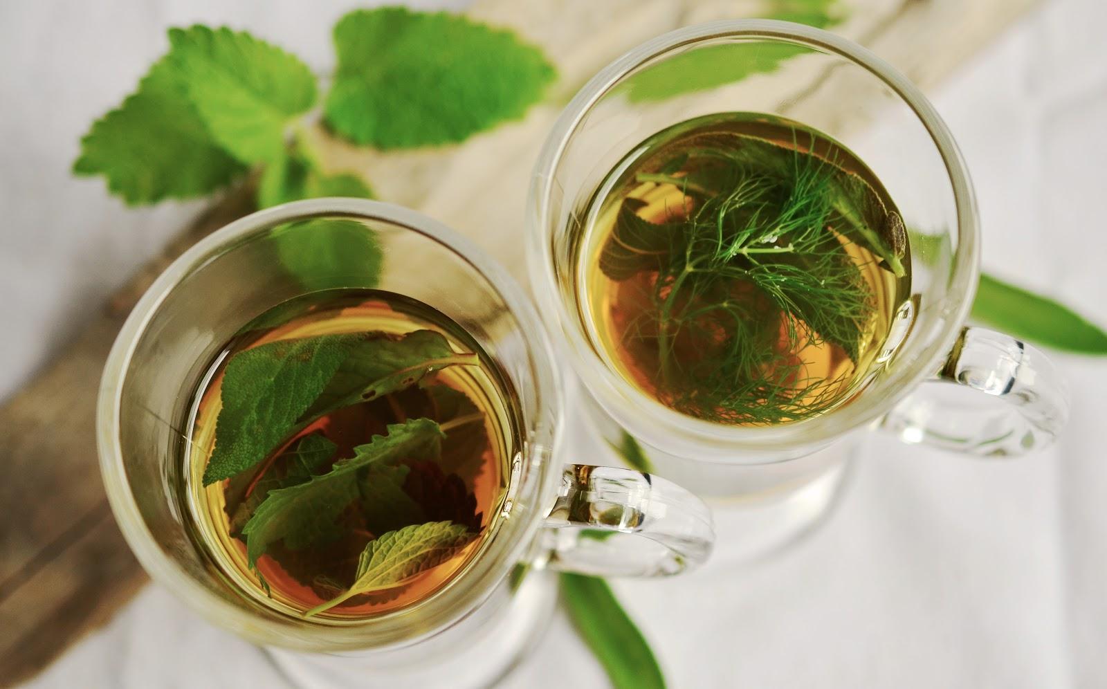 Teatoxing fad two cups of tea