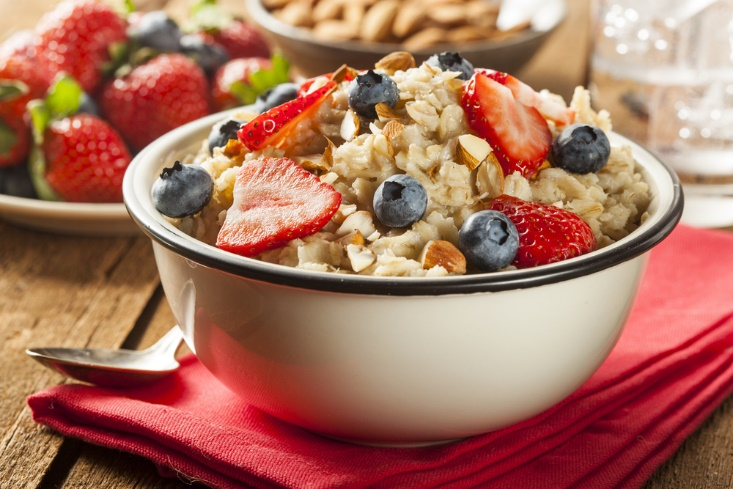 food items to eat oats and berries