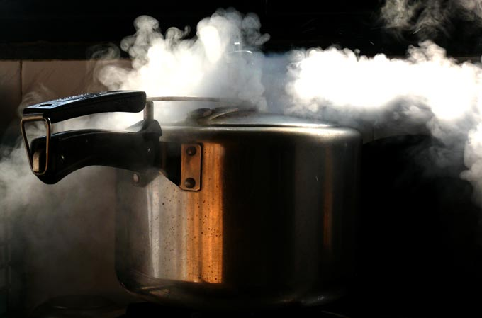 pressure cooker steaming