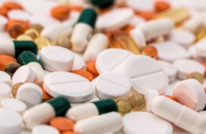 Anavar pills on table