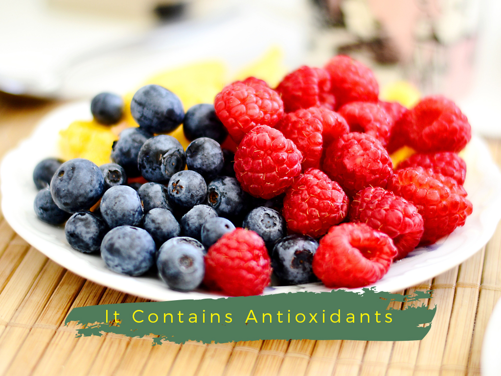 Organic Foods antioxidant berries