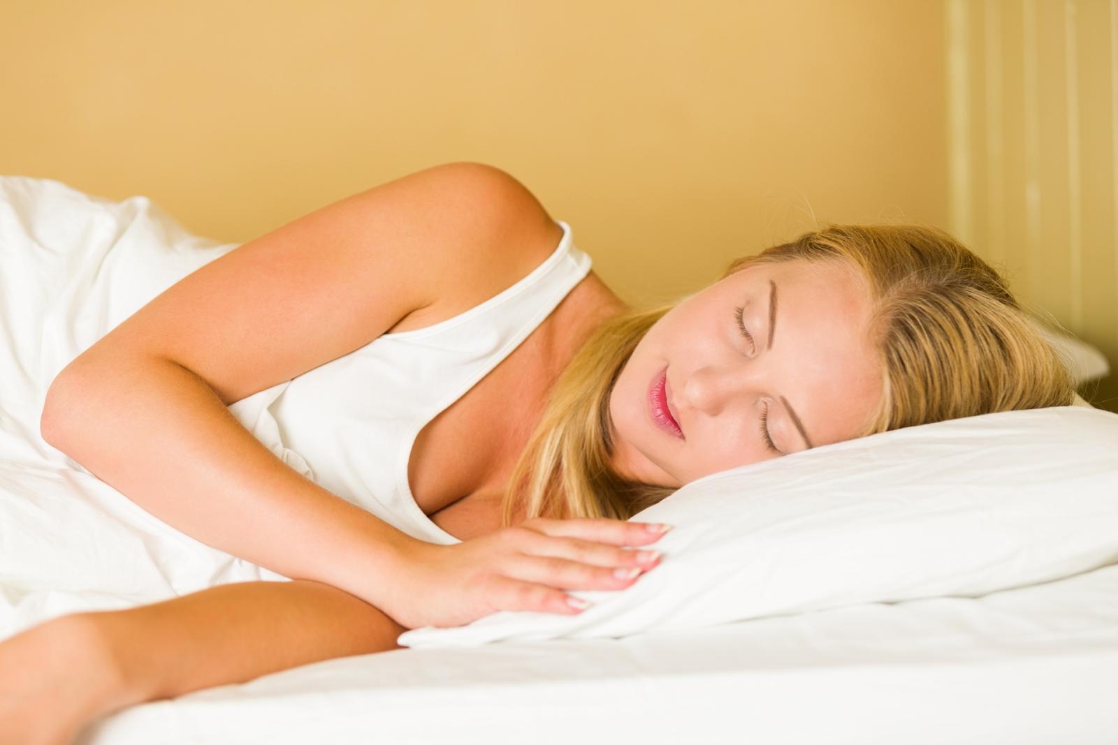 Boost Your Metabolism sleep well on pillow