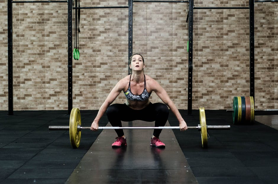 Boost Your Metabolism barbell deadlift weights