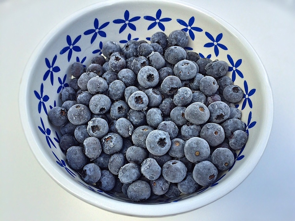 fruits for muscle blueberries