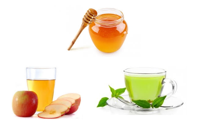 Detox Drinks honey and apple ingredients