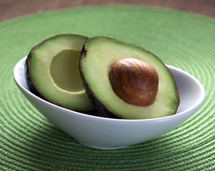 fruits for muscle avocado
