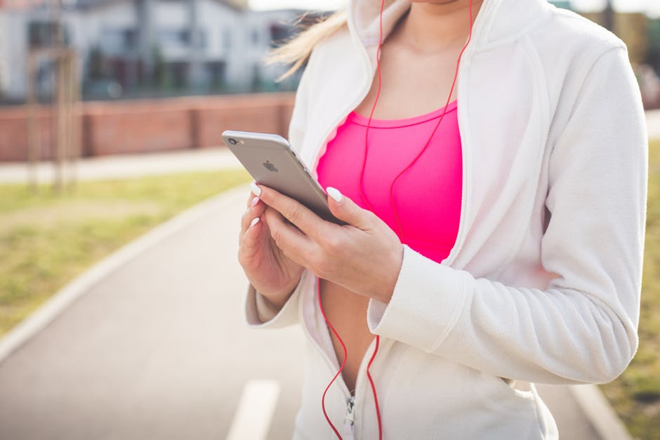 Healthy Lifestyle iphone apps woman
