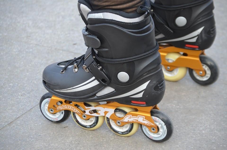 rollerblading skates
