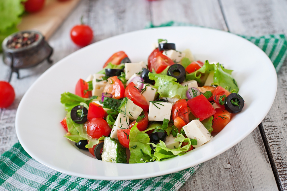 greek salad lose weight recipe