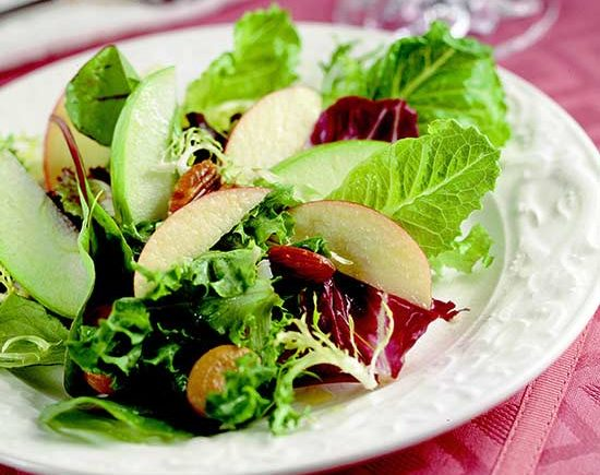 Nutty Apple Salad lose weight recipe