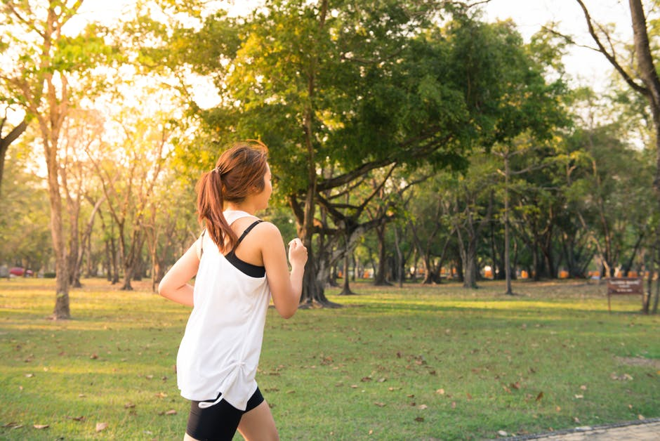 "Getting Fit Without Being Too ""Into It"" running outdoors"