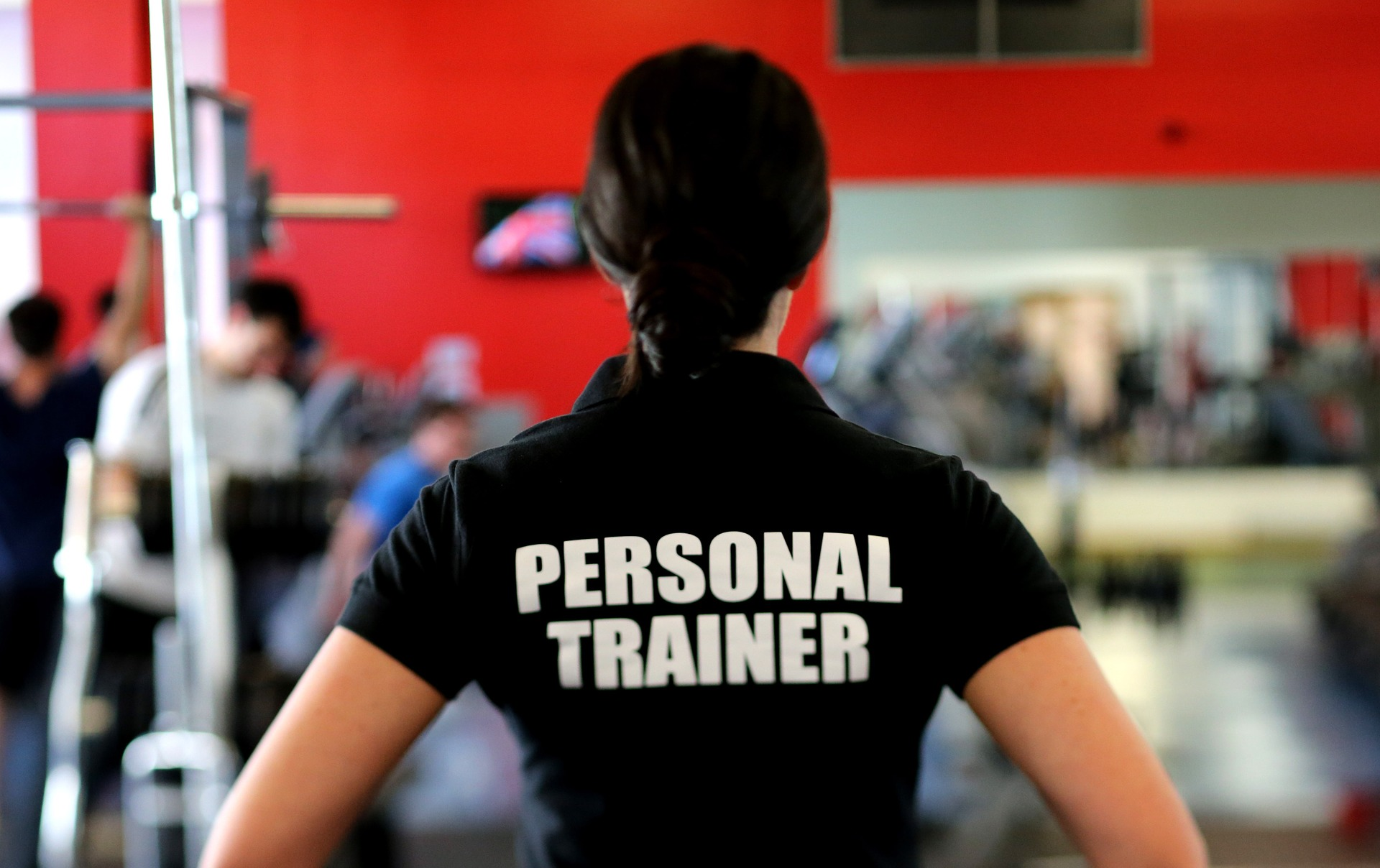 Do you have what it takes to become a personal trainer woman with shirt