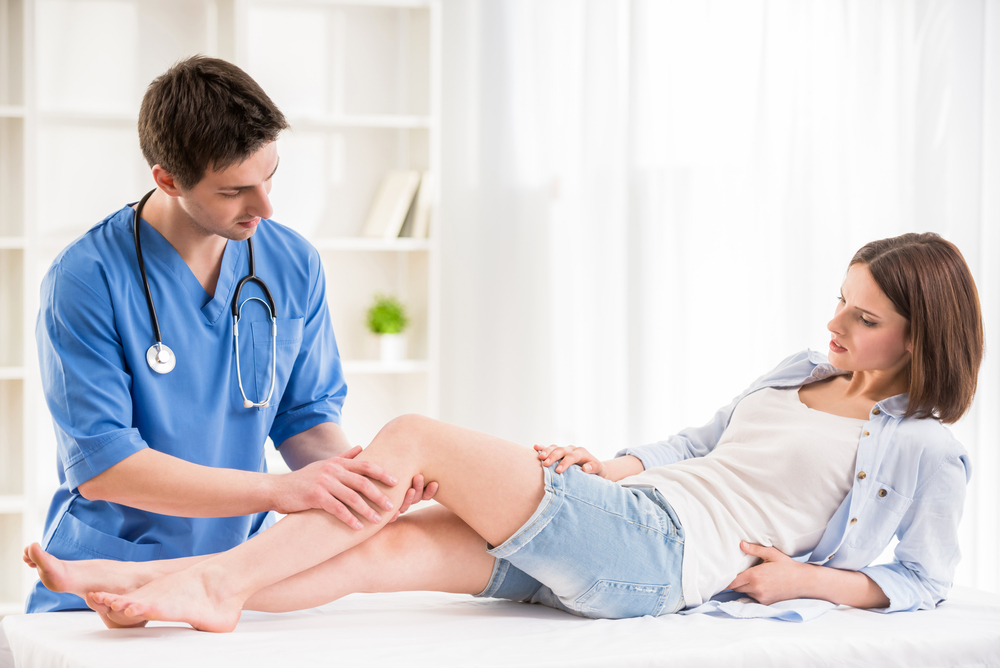 Foot Clinic: Importance In The Medical World woman on table
