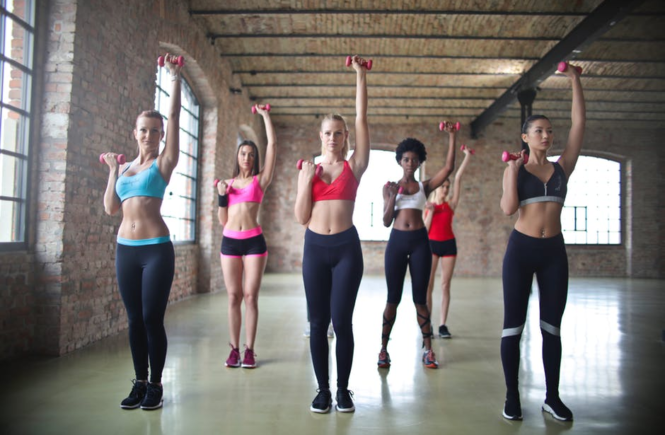 Failing To Reach Your Fitness Goals women