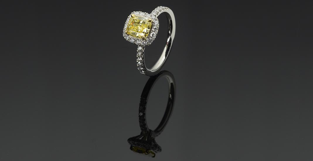 Why a Diamond Certification Matters yellow