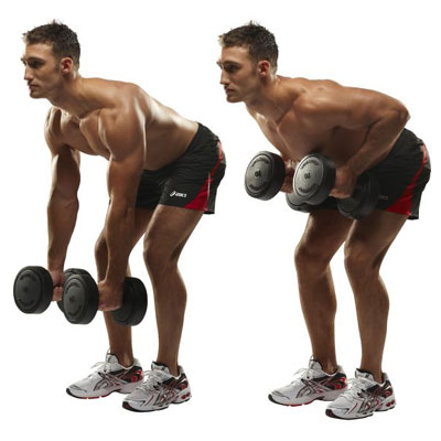 30-Minute Dumbbell Workout Program To Build Muscle man bent over