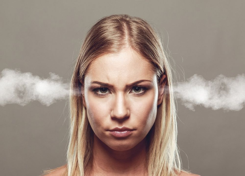 5 Signs that You are Suffering from Candida Overgrowth angry woman