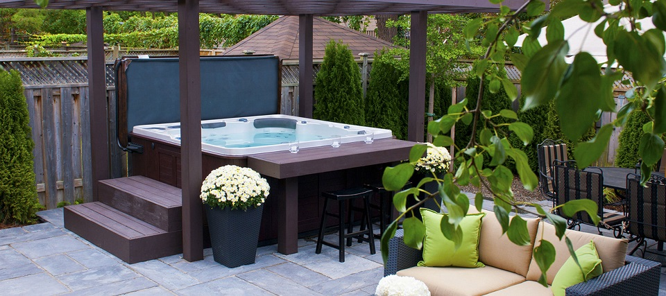 Things to Consider When Deciding Where to Install Your Hot Tub pergola
