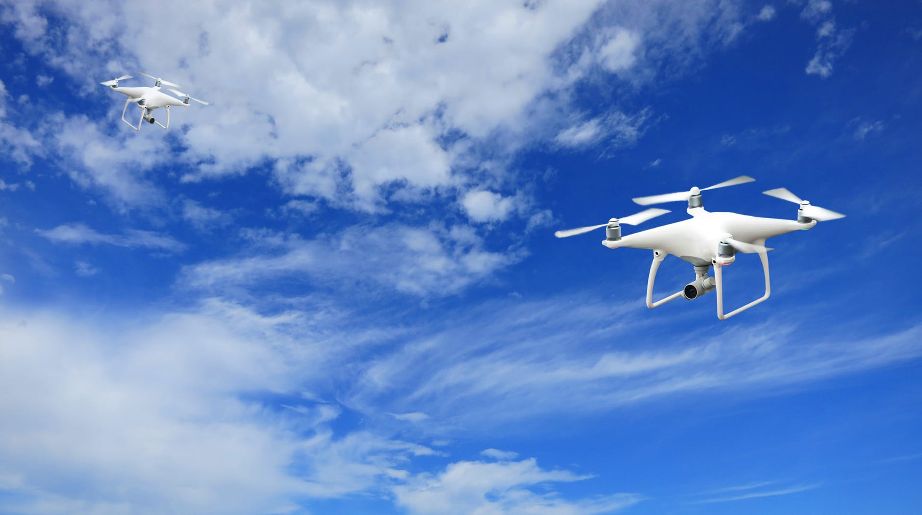 Important Pre-Flight Tips for New Drone Pilots blue sky