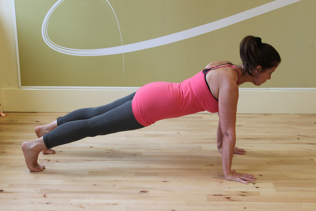 10 Yoga Poses to Burn Fat plank
