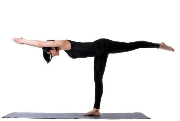10 Yoga Poses to Burn Fat lean forward