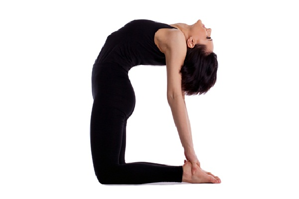 10 Yoga Poses to Burn Fat backward stretch