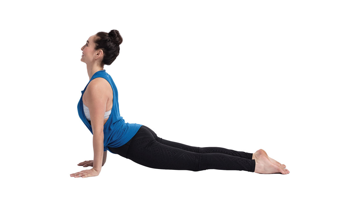 10 Yoga Poses to Burn Fat plaking