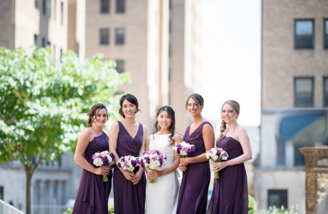 Dressing your besties: Choosing the perfect bridesmaid's dresses for your girls
