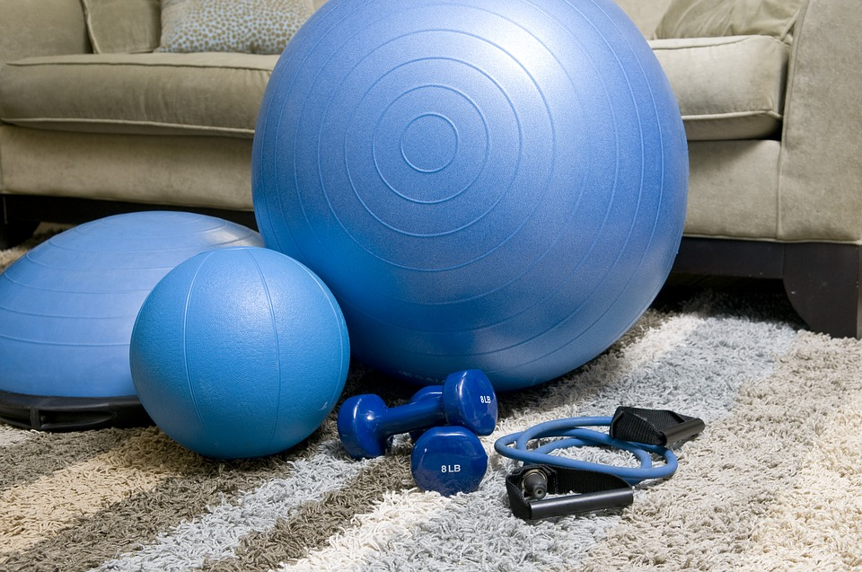 Create the perfect workout space at home