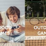 Outdoor games Vs. Indoor games