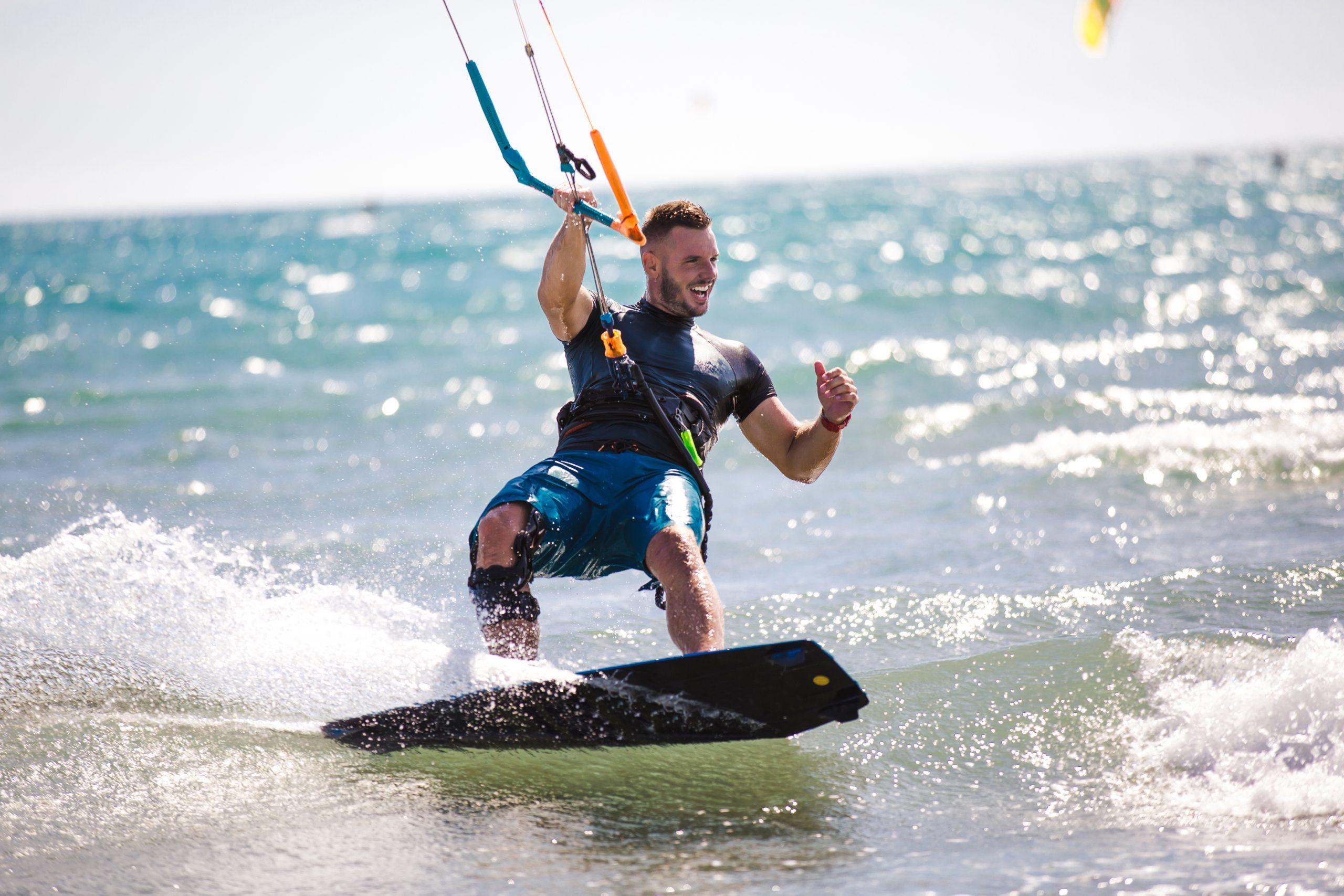 Health Benefits Of Going Kitesurfing