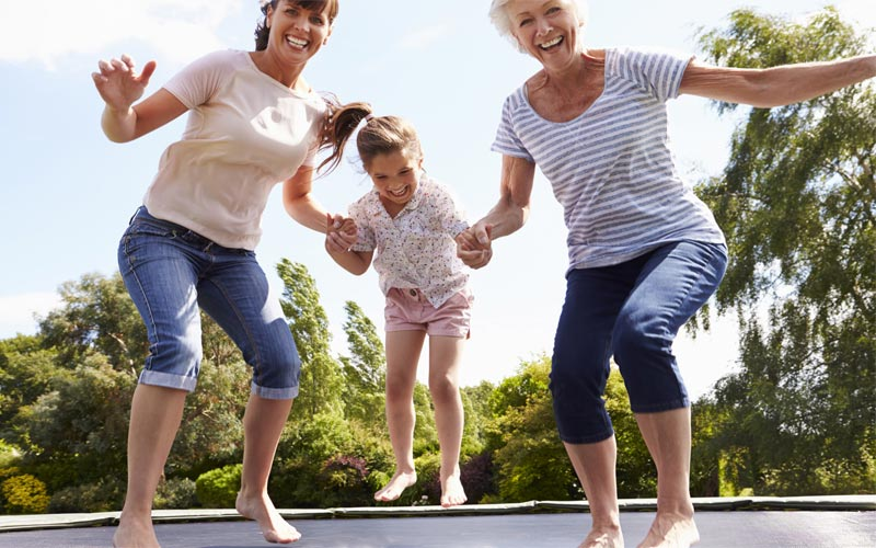 trampoline exercise benefits