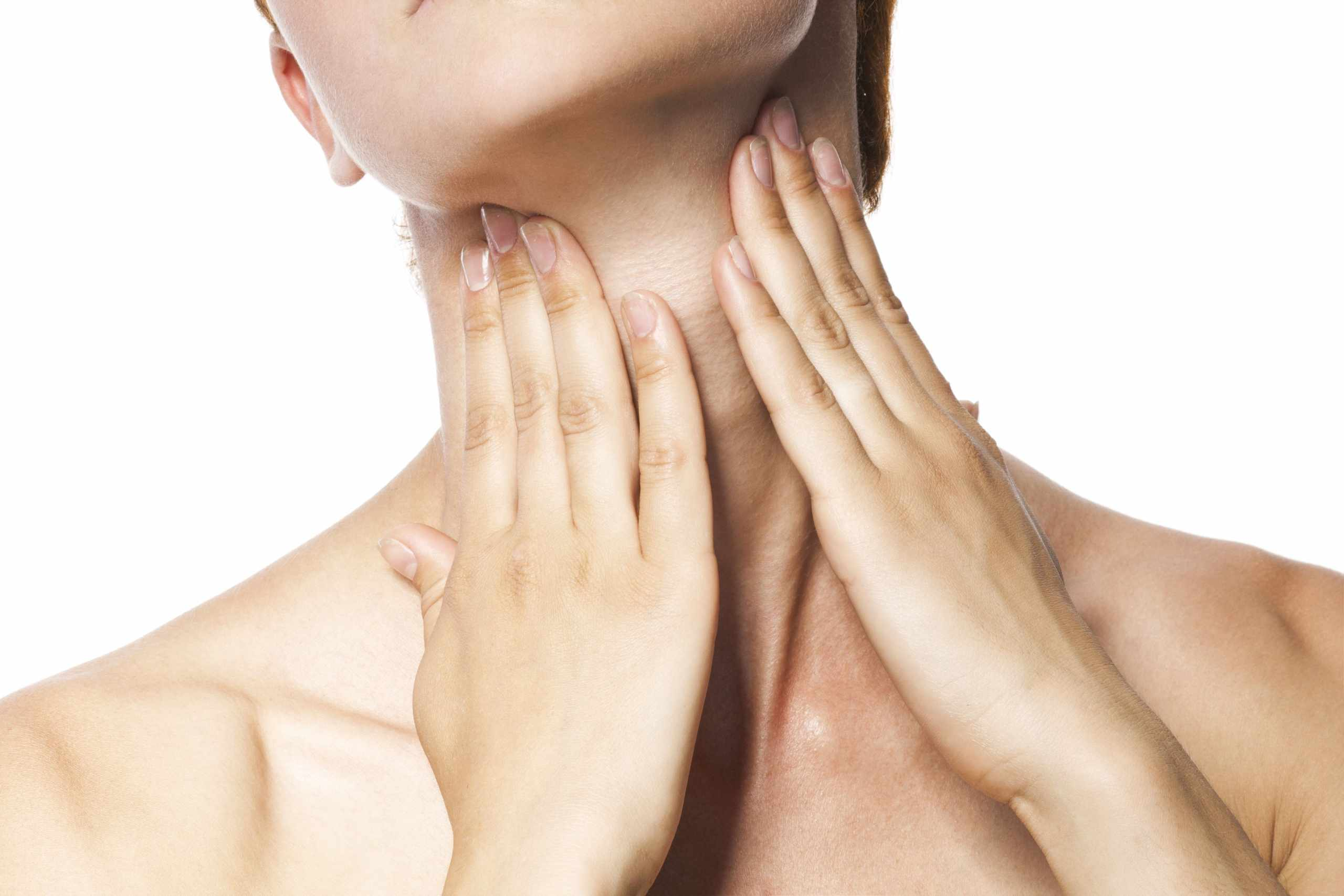 constantly clearing throat of mucus